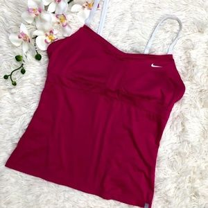Nike Dri-Fit  Tennis Pink Tank Top Size Large